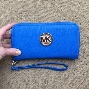 Handbags - Knock off MK Blue Walet